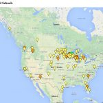 Map of CLC Churches and Schools